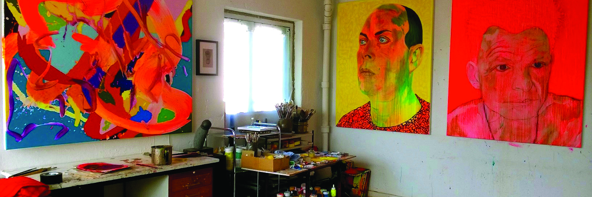 My studio in Frederiksberg